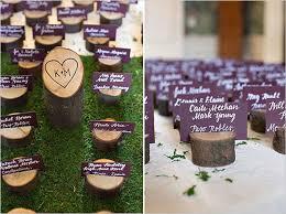 plan de table nature avec du bois j ai dit oui