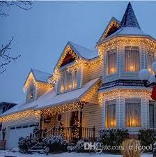 10m 320 led bulbs curtain lights wreath garland led