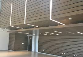 Rulon Wood Grille Ceiling by Coustic Glo