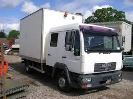 100 Crew Cab Box Truck Secondhand Lorries And Vans Over 7500Kg Man 8150