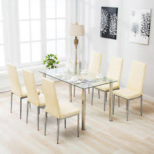 Seven Piece Dining Room Set by Dining Furniture Sets Ebay