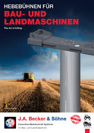 Becker-Lifts For Agricultural And Construction Machines | Jab-becker.de