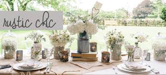 Stylish Country Wedding Decorating Ideas Rustic Reception Table Decorations