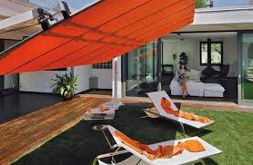 Offset Rectangular Patio Umbrellas by Fim Flexy Aluminum 8 U0027 X 16 U0027 Rectangular Offset Patio Umbrella