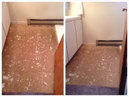 Foam Tile Flooring Sears by Alhambra Inspired Stenciled Bathroom Floor Kimberly Sears