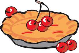 698x468 Black And White Pies Clipart