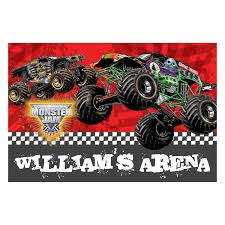 Monster Jam My Arena Floor Mat | Ty's Toy Box | Adorable | Floor ...