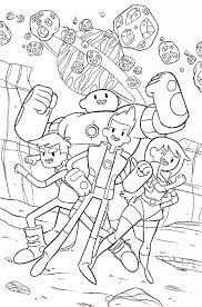 Bravest Warriors Coloring Page
