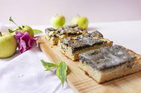 einfacher mohn apfelkuchen vom blech low carb glutenfrei