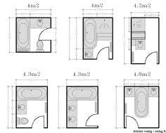 4m2 avec amenagement salle de bain 4m2 et on decoration d