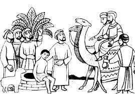 Joseph Sold Into Slavery Coloring Pages