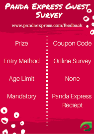 Panda Express Survey Codes / Recent Discounts Panda Express Coupons 3 Off 5 Online At Via Promo Get 25 Discount On Two Family Feasts Danny The Postmates Promo Code 100 Free Credit Delivery Working 2019 Codes For Food Ride Services Bykido Express Survey Codes Recent Discounts Swimoutlet Coupon The Best Discount Off Your Online Order Of Or More Top Blogs Dinner Fundraisers Amazing Panda Code Survey Business