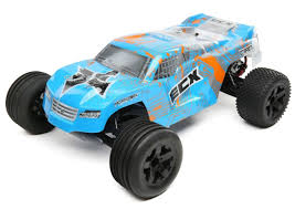 100 Stadium Truck ECX Circuit 110 2WD RC Brushed With LiPo RTR BlueOrange