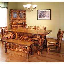 Mesmerizing Log Cabin Dining Room Furniture 20 With Additional Diy Chairs