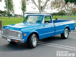 100 1971 Chevy Truck A C20 In Medium Blue Really Nice 6772