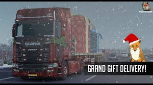ETS2 Grand Gift Delivery 2017 | Scania S520 V8 Rotterdam ... Gift Christmas Truck Stock Illustration Illustration Of Gift 13751501 Just Dropped A Load Truck Driver Shirt Trucker Inktastic Future Tow Childs Youth Tshirt Drivers Princess Key Chain Ring Gifts For The Perfect A Grab These Images From Concord Drive Safe Keychain Bookmarks And Craft North Carolina Toddler Garbage Surprise Each Other Life Is Full Of Risks Ltl Funny Driver Quotes Paid To Deliver Your Crap Not Take It Mug Semi Employee Recognition Awards Buy Scania Driving Simulatorsteamgift Download