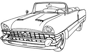 Old Car Coloring Pages