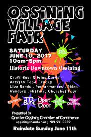 37th Annual Ossining Village Fair June 10 Ossining Chamber of