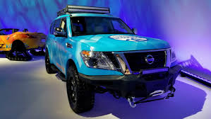 siege nissan nissan once again beats the winter blues with armada patrol