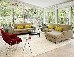 grey brown velvet sofa cushion living room wall small