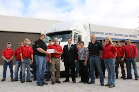 100 Truck Centers Harrison Donates New Truck To NIACC Forest City