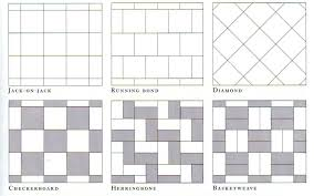 floor tile layout patterns carpet flooring ideas