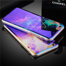 Luxury Cool Night Sky Star Diamond Pattern phone cases For iPhone