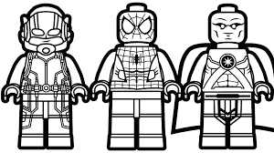 Ant Man Coloring Pages Printable And