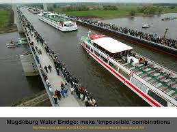 100 Magdeburg Water Bridge Make Impossible