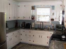 grey granite countertops with brown cabinets grey granite