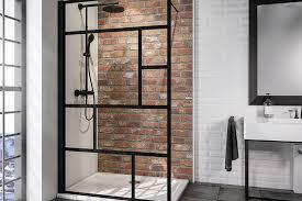 duschen in schwarzem industrial design duschmeister