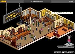 A Screen Capture Of Habbo Hotel As Shown On The Gamasutra Website