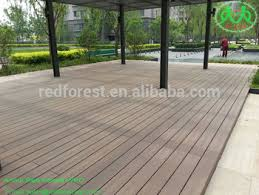 Cheap WPC Outdoor Decking Boards Temporary Flooring