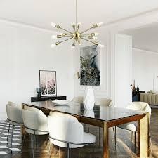 Modern White Warm Ceiling Light Pendant Lamp Fixture Chandelier Home Room Decor 18W
