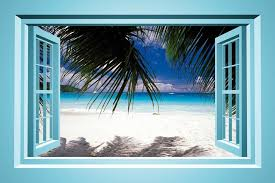 Wall Mural Decals Beach by Large Removable Faux Beach Scene Murals Google Search Beach