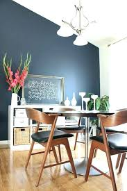 Navy Accent Wall Wallpaper Living Room Dining Medium Size Of Walls With Blue Kitchen
