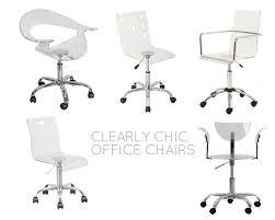 Acrylic Office Chair Uk by Best 25 Clear Desk Ideas On Pinterest Imac Desk Study