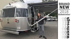 100 Modern Travel Trailer Walk Through 2018 Airstream Globetrotter 27FBQ Front Bedroom Queen