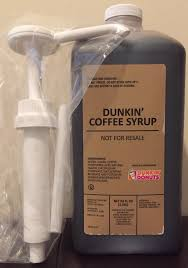 Dunkin Pumpkin Spice Syrup by Dunkin Donuts Caramel Frozen Coffee Syrup Swirl With Pump