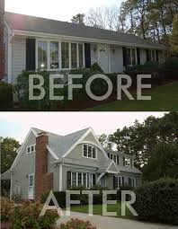 Inspiring Garage Addition Plans Story Photo by Second Floor Additions Before And After Images House