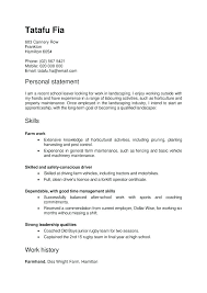 Good Personal Statement Examples For Retail Jobs Resume Templates Job Application Best Solutions Of Template Awesome Cover Letter A