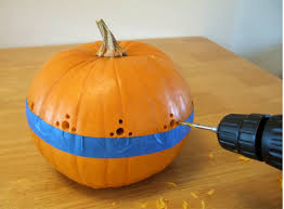 Pumpkin Carving With Drill by Skip The Awful Mess And Use A Drill To Carve Your Pumpkins For