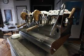 Custom Wood For Your Espresso Machine