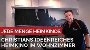christians ideenreiches heimkino im wohnzimmer viele ideen toll umgesetzt grobi tv heimkino