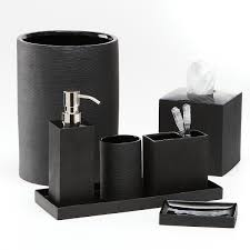 Rhinestone Bathroom Accessories Sets by Classic Look With White And Black Bathroom Accessories Bath Decors