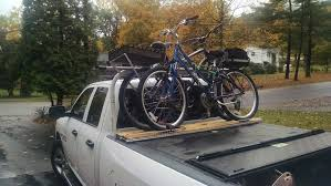 Bike Rack Attachment For Pickup Truck Above The Cover. $20 (after ... Yakima Pickup Kayak Rack Cosmecol How To Haul A And Fifth Wheel My Setup Love The Rv Life Bdown Racks Hq Damian Stones Ford F250 Roof Rack Tulumsenderco Truck Bed Utility 9 Steps With Pictures Truck Bike Carriers Mtbrcom Selecting Racks For Your Vehicle Olympic Outdoor Center Together With Toyota Ta A As Well Ford For Diy Best Canoe Trucks Thule Xsporter