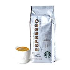 Starbucks Black Coffee Store Synchronized Concentrated Deep Roasted Beans Powder Pure