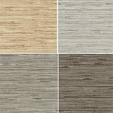 Classic Style Rustic Embossed Vinyl Textured Faux Grasscloth Wallpaper Modern Solid Wall Paper For Bedroom