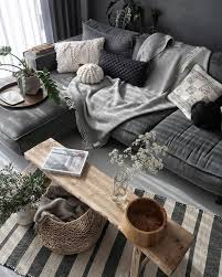 deko wohnzimmer grau weiße wand weiß deko grau mur