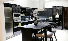 Here Is One Of The Best Kitchen Design By Our Top Pakistans Designer NDF Interiors Black Theme Idea Great For Wide Are Space This
